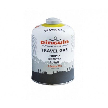 Pinguin Butelie cu valva Travel Gas 450g