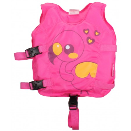 Waimea Animal Swimming Vest- Pink