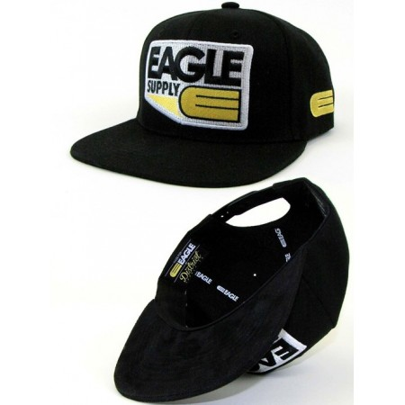 Eagle Badge Snapback - Black
